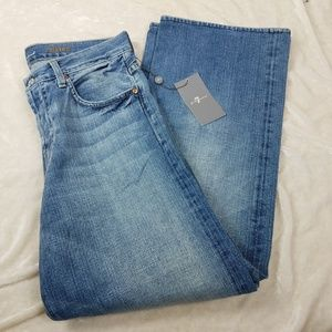 7 For All Mankind Relaxed Mens 30 Medium Wash Jean